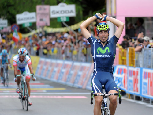 Giro d'Italia 2011: Stage 6 Fran Windy!  Ventoso winning the sprint of Petacchi.