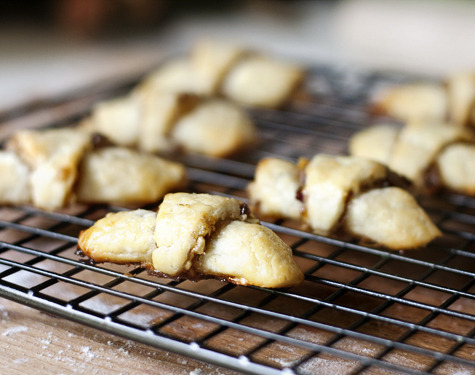 cupcakes-for-breakfast:  17 and Baking | Apricot Walnut Rugelach  UM YUM
