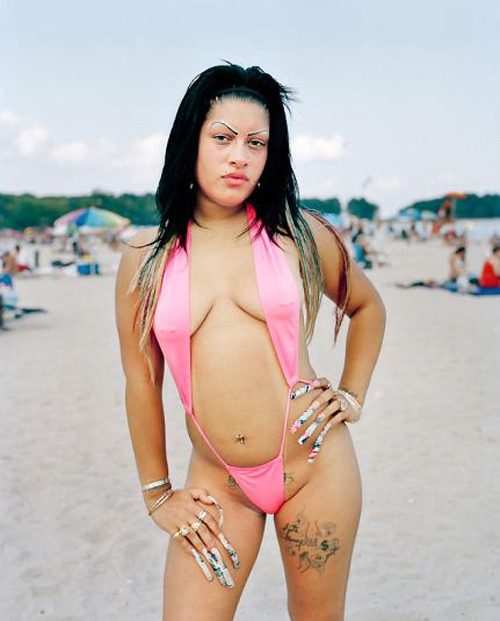 Wayne LawrenceAnna, from the series Orchard Beach: The Bronx Riviera (via conscientious)