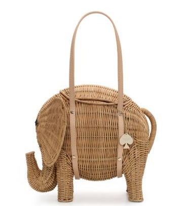 Royal Plantation Elephant Basket from Kate Spade