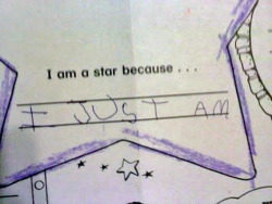 Wish I was a star!