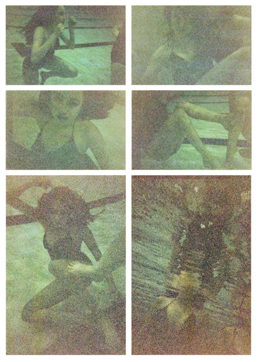 "So it seems that it was too dark at the Rec Center for underwater  photography. The lady at Walmart set the package to the side and said it  was free because the film was ""blank,"" but I later came to find that  the CD I ordered was still included in this free package, and that it  had all 27 exposures on it. (: So that's one good thing that exists regardless of the fact that these exemplify the quality of all the pictures. This just means we'll have to try again some time. Because,  obviously, Sarah's a wonderful model and these pictures would have been  amazing."