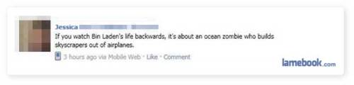 (via Lamebook – Funny Facebook Statuses, Fails, LOLs and More – The Original » Winning!)