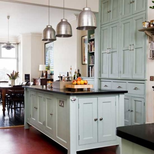 gardenviewcottage:  fromgreenwich:   yes siree!  Kitchen love