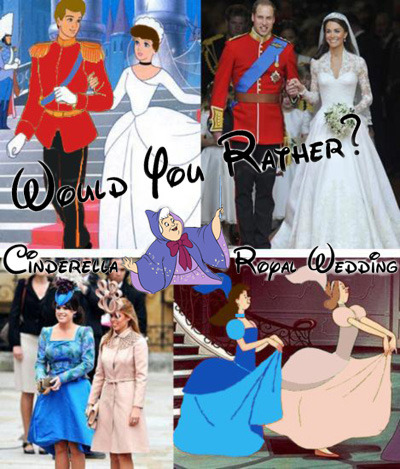 Royal Wedding :: The Disney edition.