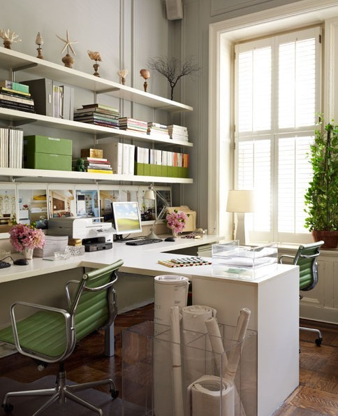 (via delight by design: office lust {jade and chocolate})