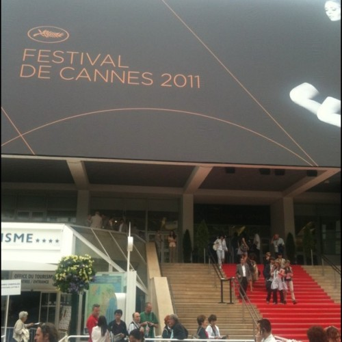 The Gary Busey theatre… #cannes (Taken with instagram)