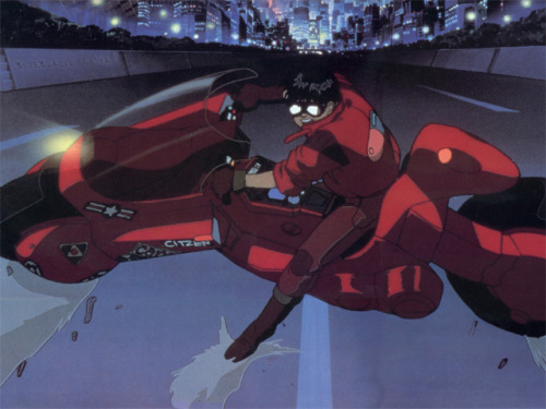 Vehicles I Want! #6 Keneda's Bike from Akira This is one of the coolest animated films of the past century. Watch it. I love this bike.
