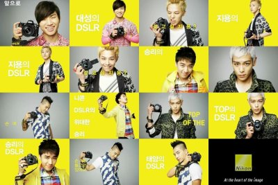 "[PHOTOS] Big Bang for Nikon ""A Shot A Day"" (110513)        Source: DCInside Shared by Xera@BIGBANGWORLD"