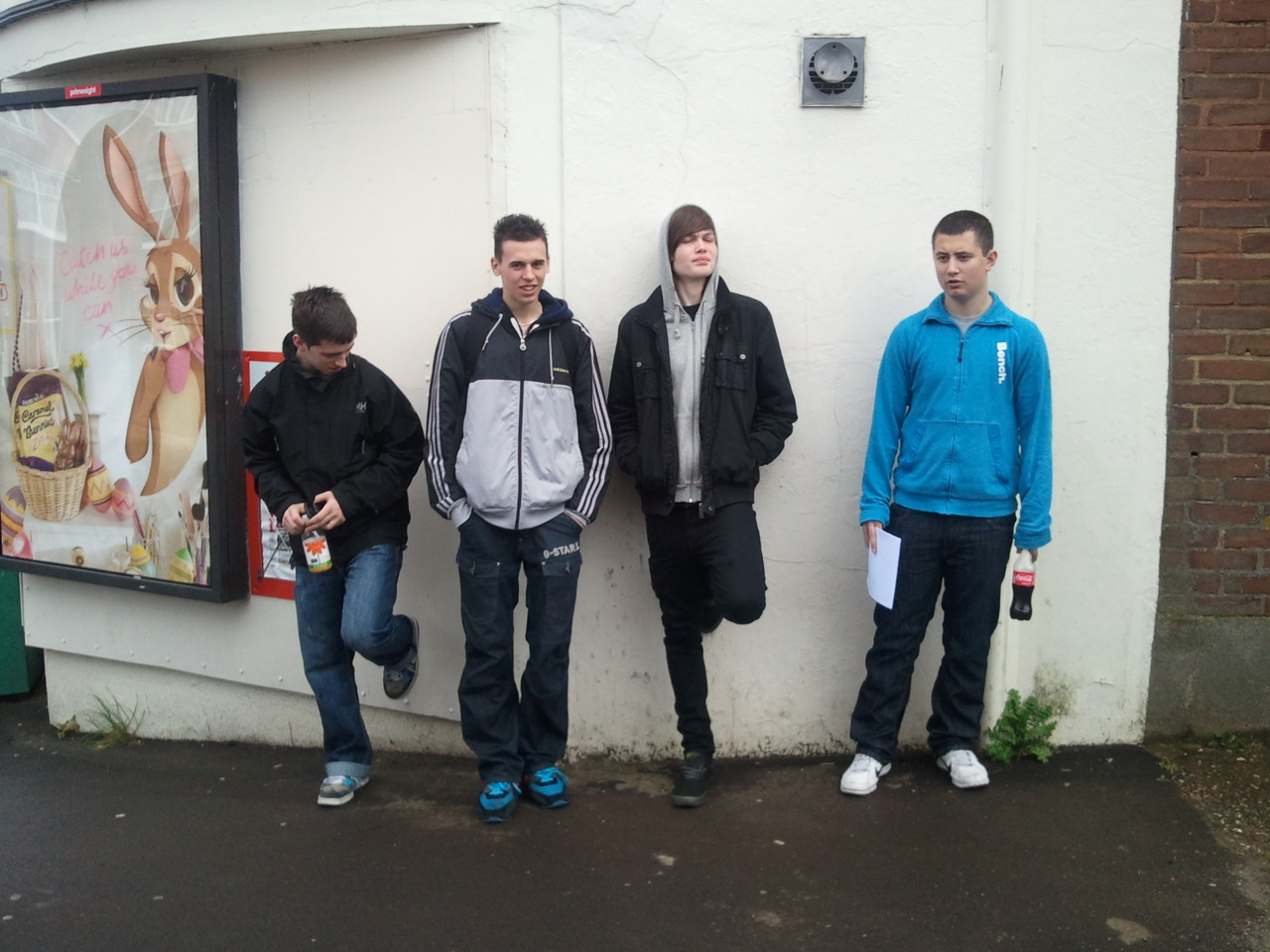 (L-R) Danny Hutchins, Conor Matthews, Dan Thorn, Lee Munshi) COMEDY RESEARCH These strapping young men are creating a live-action/ animation comedy in the style of 'The Inbetweeners' and 'South Park' and would very much appreciate you taking two minutes to help them with their National Diploma Interactive Media research: http://www.surveymonkey.com/s/3N8YPDH   Thanks