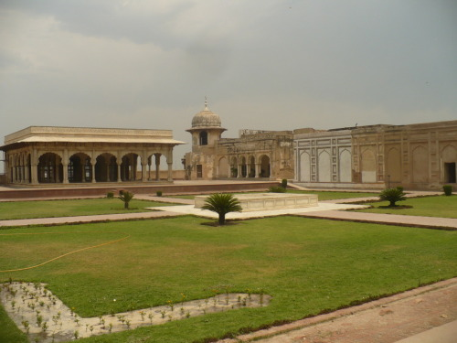 Lahore Fort, Lahore, Pakistan. Another huge place. This is one of the many courtyards, more info and pictures when I'm back home.