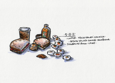 5/11/11 On the Road #doodlediet