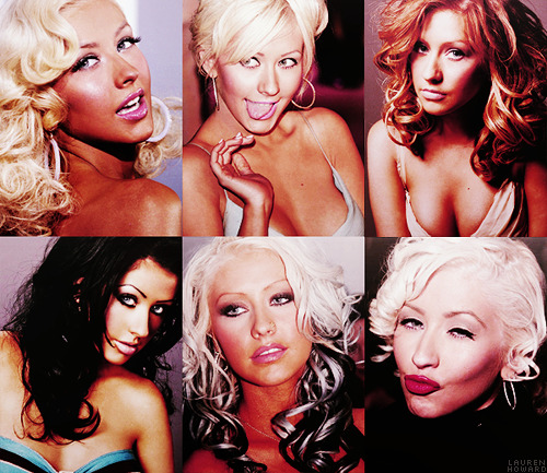 TOP 10 GIRL CRUSHES↳ Christina Aguilera  The queen of my everything.