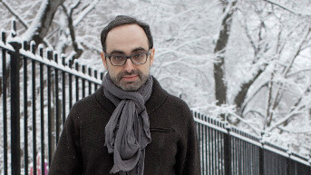"Gary Shteyngart on attention spans: ""Sometimes technology outpaces humanity's ability to process it. I think that's where we are right now. My mind has been sliced and diced in so many ways. There's so many packets of information coming at me, especially in a city like New York, which is so dense with information no matter where you go. … It's just shocking: how is literature supposed to survive when our brain has been pummeled with information all day long at work — if we're white collar workers. When we go home, are we really going to open a thick text with 350 pages and try to waddle through it?"""