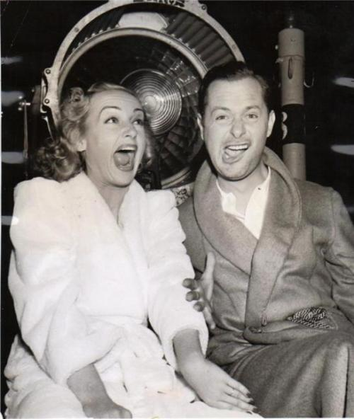 Carole Lombard and Robert Montgomery