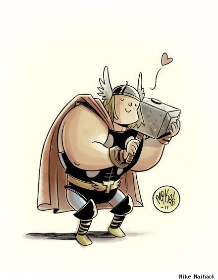 Thor by Mike Maihack