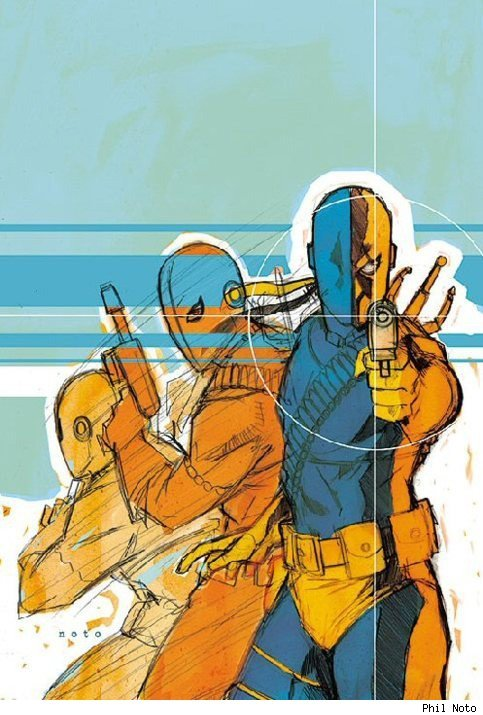 Deathstroke by Phil Noto