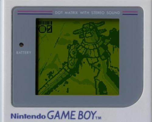 Shadow of the Colossus GAME BOY! Dream games that should exist.