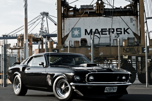 motoriginal:  Getting Even by AutoNZ 1969 Ford Mustang Mach 1 Cobra Jet 428 Location: New Zealand
