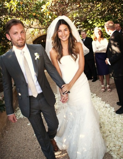 CALEB FOLLOWILL AND LILY ALDRIDGE WED IN CALIFORNIA. Kings Of Leon frontman Caleb Followill wed finacée and Victoria Secret model Lily Aldridge on Thursday, May 12 in Montecito, California. The bride wore a strapless, mermaid, Chantilly lace and chiffon VERA WANG gown while the groom looked dashing in a GUCCI suit. Congratulations to the happy couple! I look forward to seeing Kellan Lutz and Mandy Moore wed on screen at the Love, Wedding, Marriage premiere this coming Tuesday! Will you be watching Love, Wedding, Marriage in movie theaters on June 3rd?