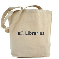 "poplibrary:  ""Like"" Libraries Tote Bag"
