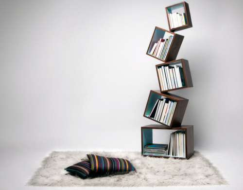 archiphile:  shelves: equilibrium bookcase displayed on archiphile | facebook | twitter