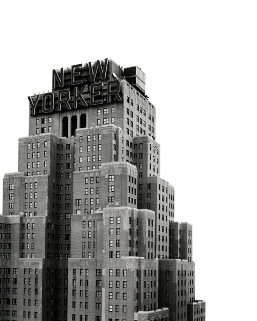nevver:  Chistopher Griffith, New Yorker   that sign + that building