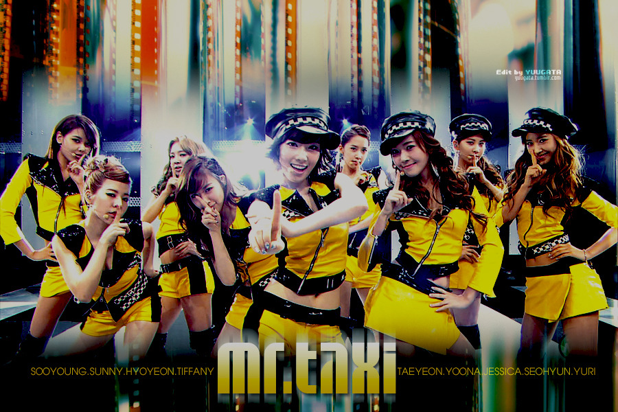 "[COLORING] SNSD - ""MR.TAXI"" MUSIC STATION Edit by me"