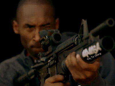 "If I know Kobe like we all think we do, we know he's already ""GUNNING"" for next year. -On To Glory-"
