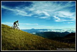 "Have you ever biked on… Mt. Pulag? That'd sure be an adventure. Why not try it? Tara! Or, you can always go trekking. After all, it is touted as one of the most beautiful mountains in the Philippines. The native tribes even say that Mt. Pulag is the ""playground of the gods"". The biodiverse and verdant Mount Pulag is the highest peak in Luzon, and the Philippines' third. via domskidoodle"