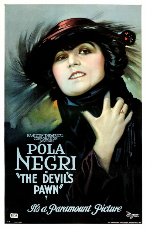golden-age-movies:  The Devil's Pawn (1922)