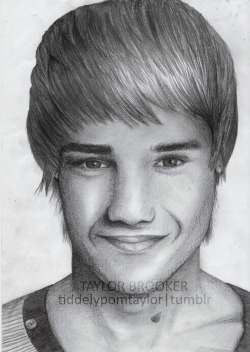 tiddelypomtaylor:  New drawing of Liam Payne :)
