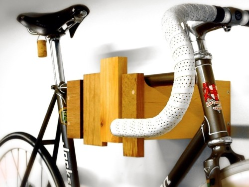 Etsy * Cantilever and Press' Wall-Mounted Bike Rack