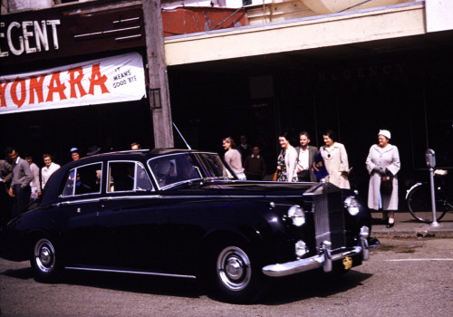 Sayonara from the Regent.Found 1960s film slide.NZ.Photographer unknown.