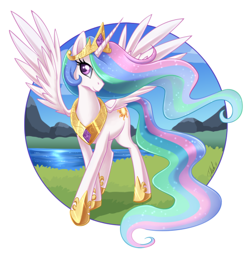 cutiemarkcrusaders:  (via Princess Celestia by *MetalPandora on deviantART)