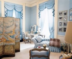 Jacqueline Kennedy's White House dressing room.