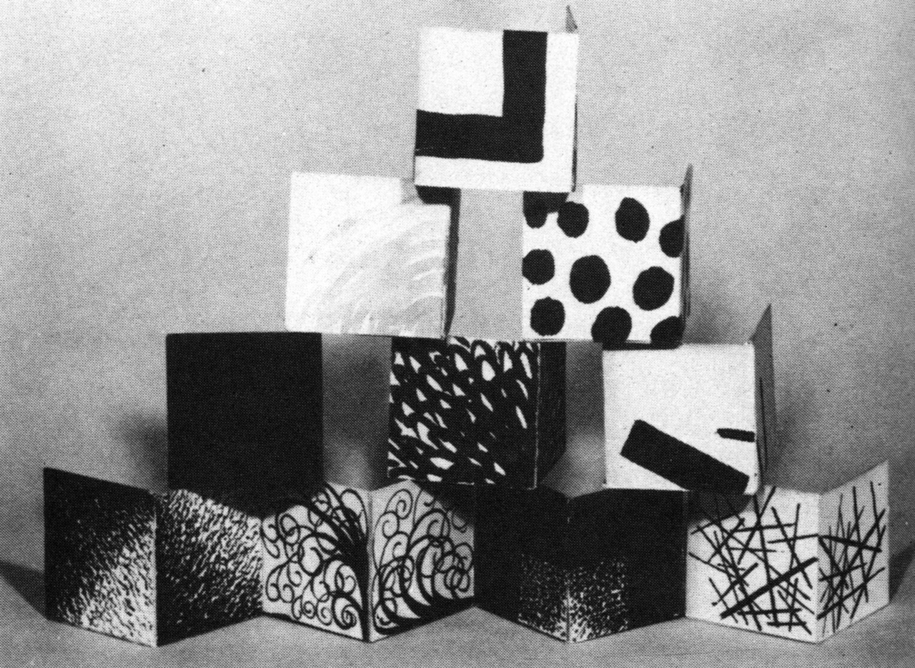 archiveofaffinities:  Petr Miturich, Ten Cubes, 1919-1921