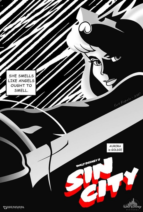 charlestheirishman:  (via walt disney's sin city « thaeger)  This is so awesome.