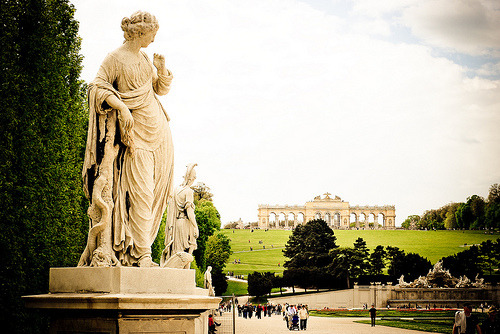 allthingseurope:  The Gloriette, Vienna, Austria  (by butsi77)   The antiquity of Europe makes America look like a baby.