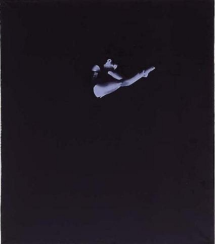 Wilhelm Sasnal, Untitled (high diver) (2001)