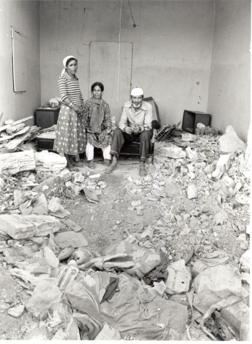 Destroyed home - Palestine - 1948