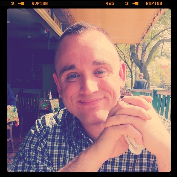 Hubby (Taken with Instagram at La Cocina)