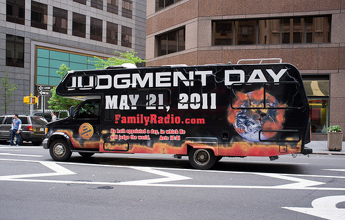 laughingsquid:  Judgment Day   Today in family radio we're not sure we should be listening to.