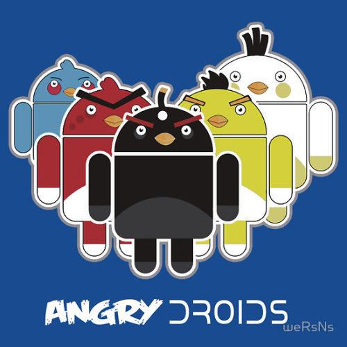 wersns:  What would the droidarmy be without the angry droids?? Probably my last contribution to the droidarmy…