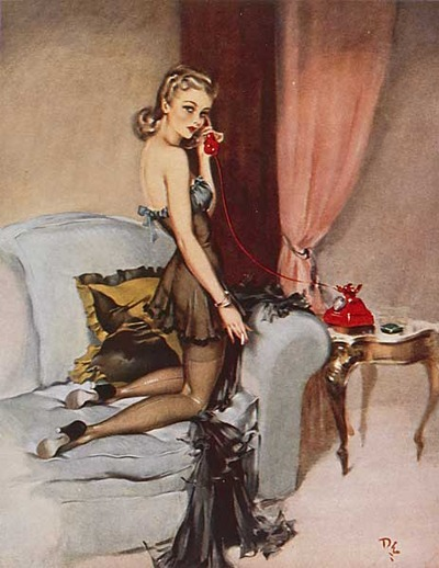 art by David Wright 1940's