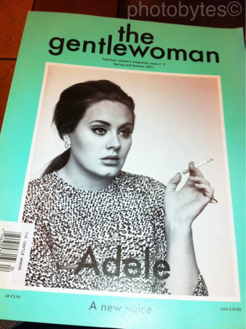 When I grow up I want to be just like Adele! ;)