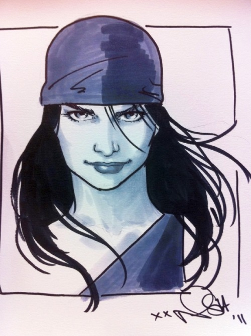 Convention sketch by Scott from March this year.