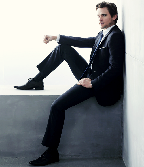 More Matt gorgeousness in a suit!