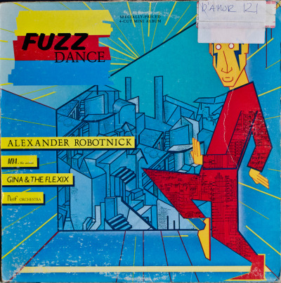 "Various - Fuzz Dance (12"") Label: SireCat#: 9 25273-1Italo-Disco, Italy, 1985RYM / Discogs Note: 4 track 12""/EP featuring Alexander Robotnick, Mya & The Mirror, Gina & The Flexix and Naïf Orchestra. Good stuff."