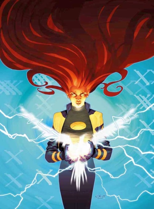 Ariel Olivetti's cover for New X-Men #127.